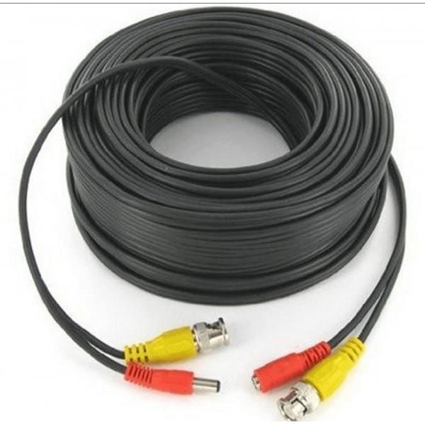 Cable para Camara de Seguridad Armado 20mts