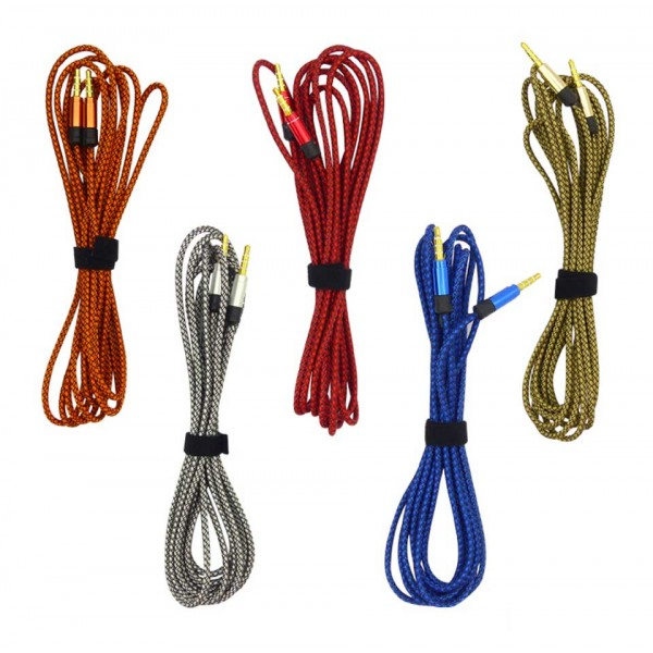 Cable Aux Plug 3.5 de 3 Metros