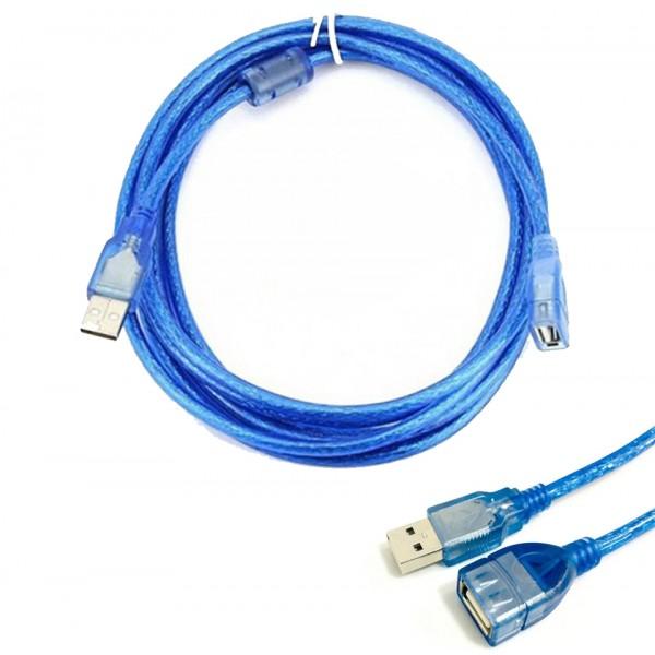 Cable Extensor Usb Macho a Usb Hembra 3mts